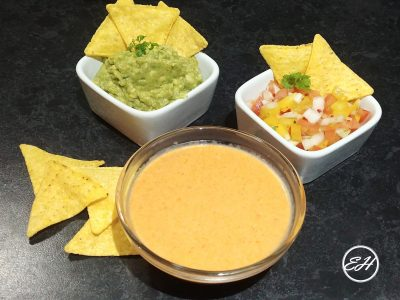 Salsa de queso - Cheese sauce - Extravagance House